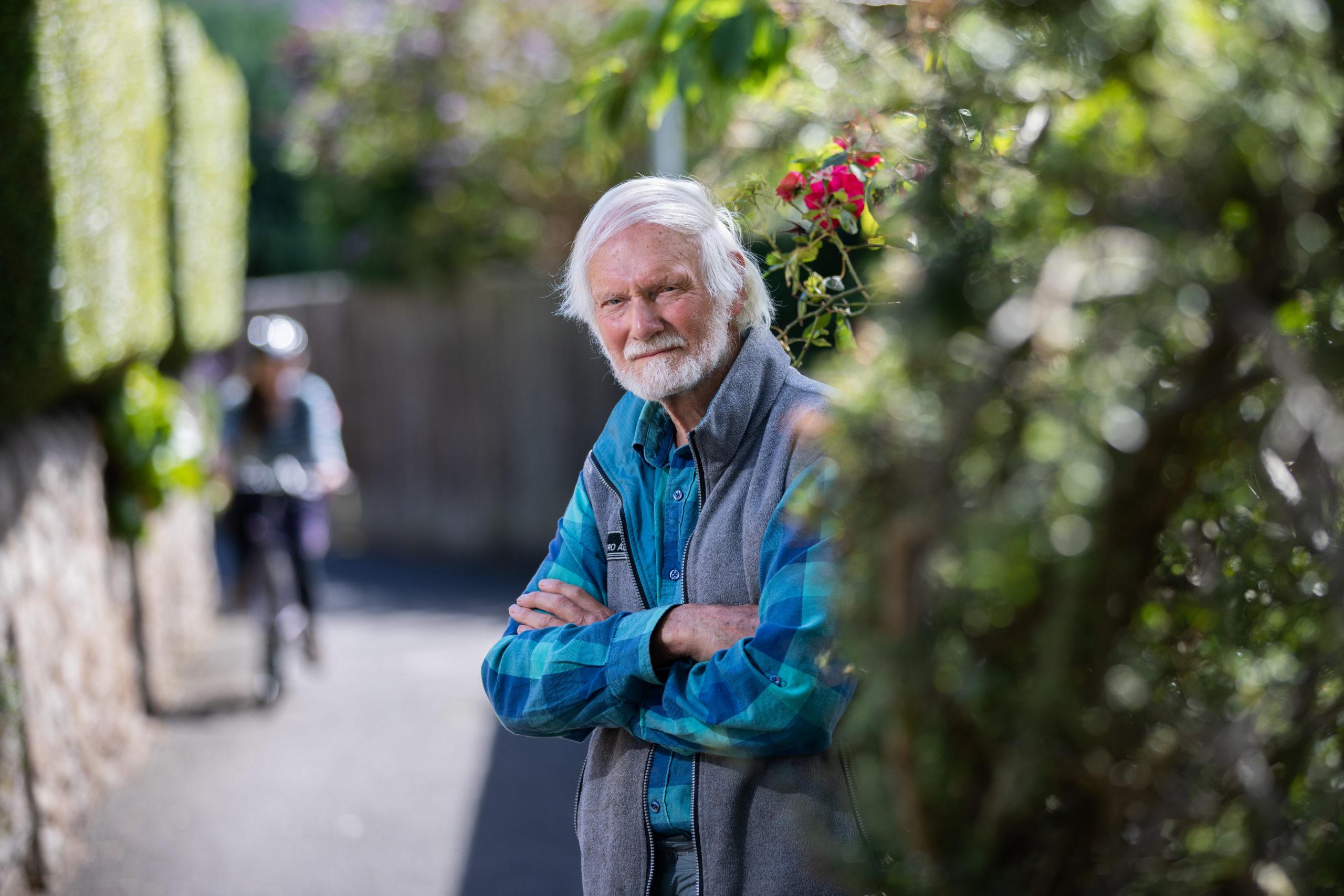 David Middleton at Lade Braes in St Andrews.