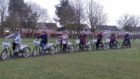 Green health prescription patients on an ebike ride.