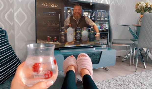 Eden Mills virtual gin tasting