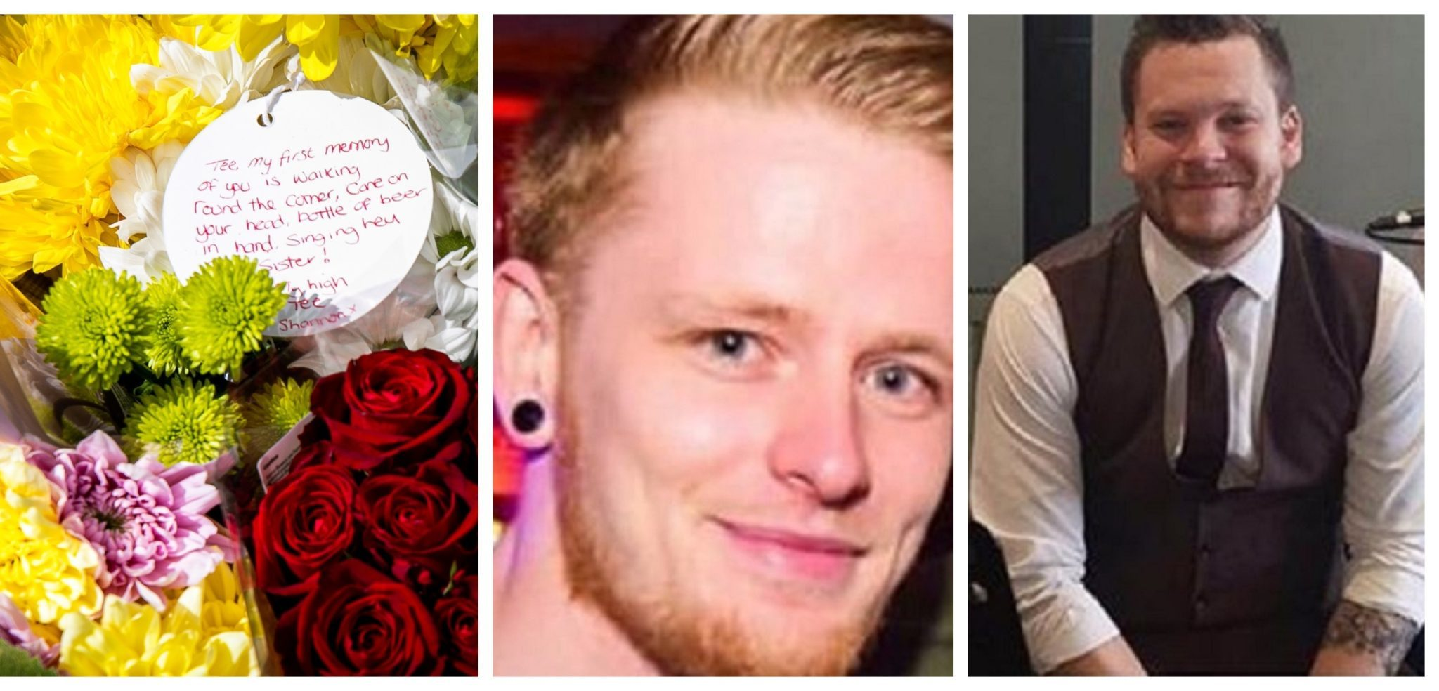 Tributes have been paid to Terence and Danny.