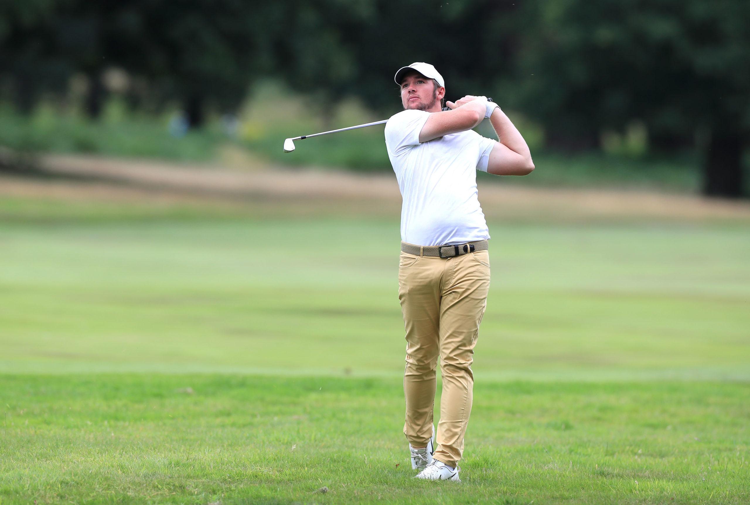 England's Sam Horsfield.