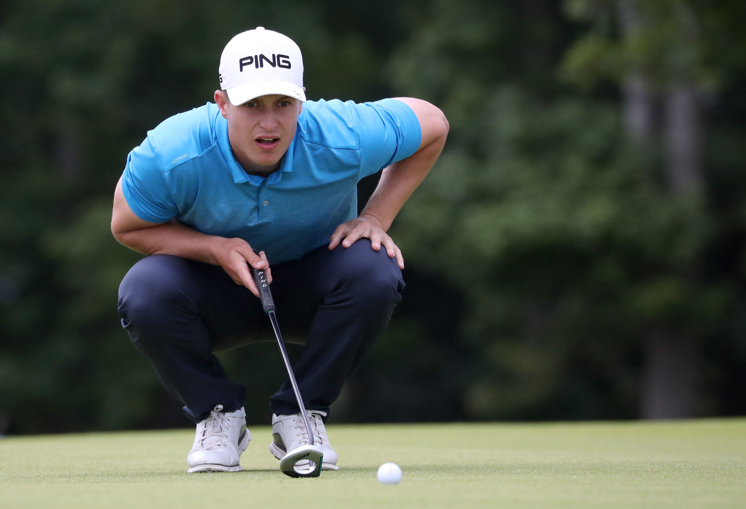 Perthshire's Calum Hill had an ideal start to the Betfred British Masters.