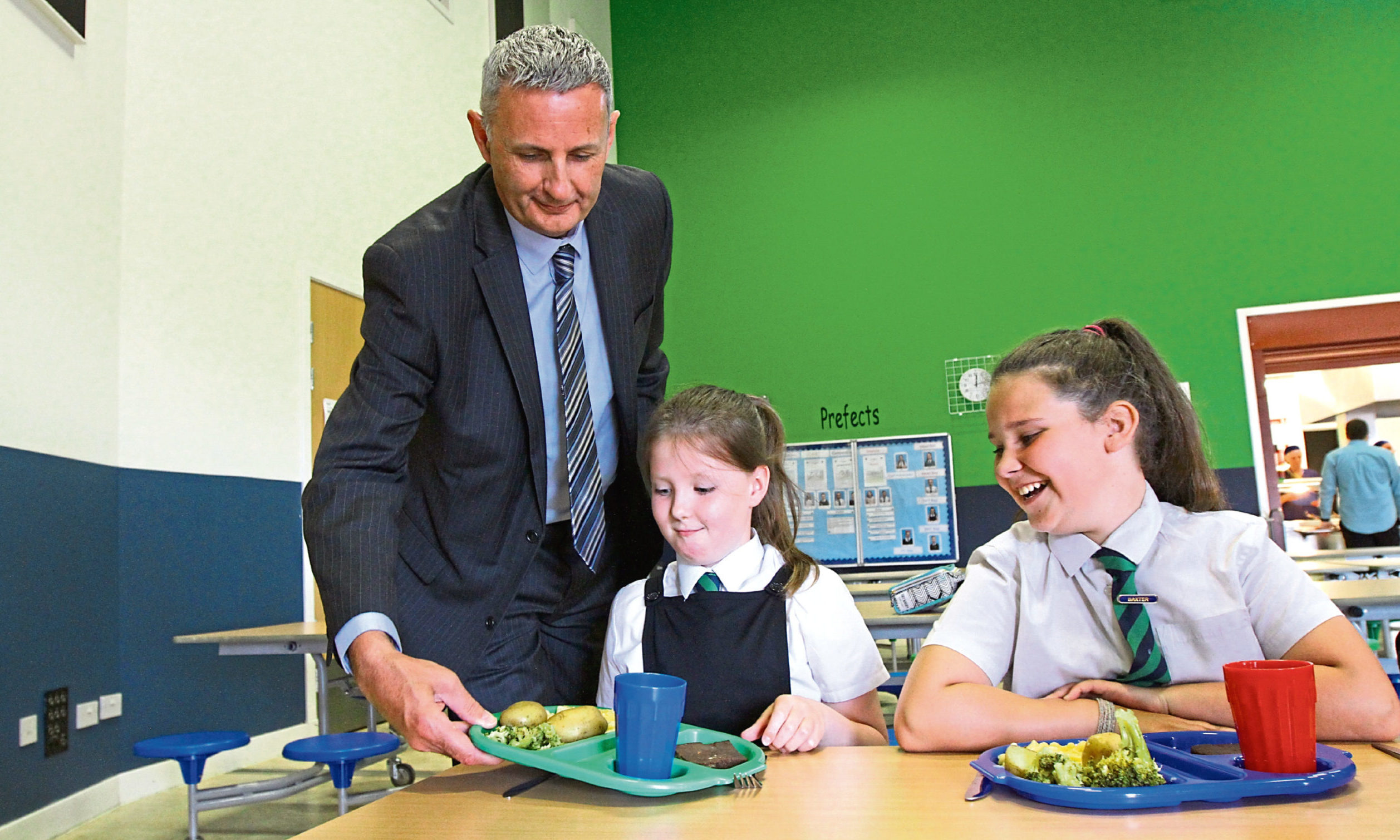 "The task of delivering meals to pupils once schools return full time in August will be ""challenging"" according to Gary Conway"
