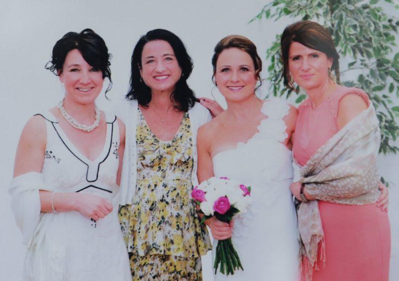 Daughters Angela, Rebecca, Teresa and Laura.