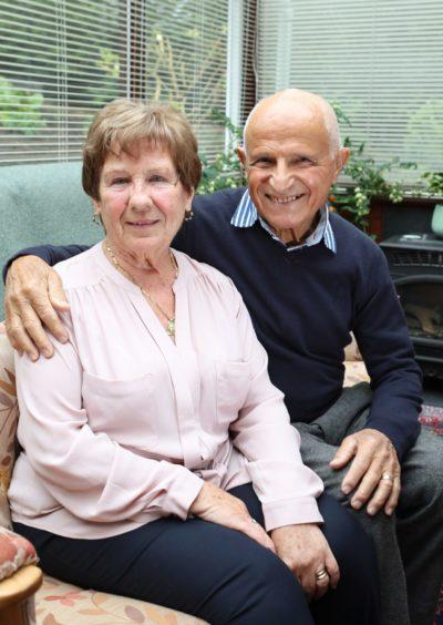 Betty and Peppino Lapadula.