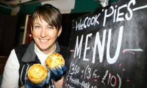 Hayley Wilkes  of the Wee Cook Kitchen.