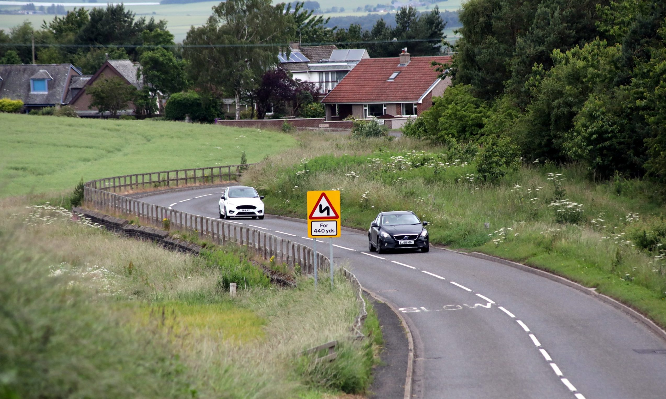 The B9128 between Forfar and Kingsmuir is to become a 40mph zone.