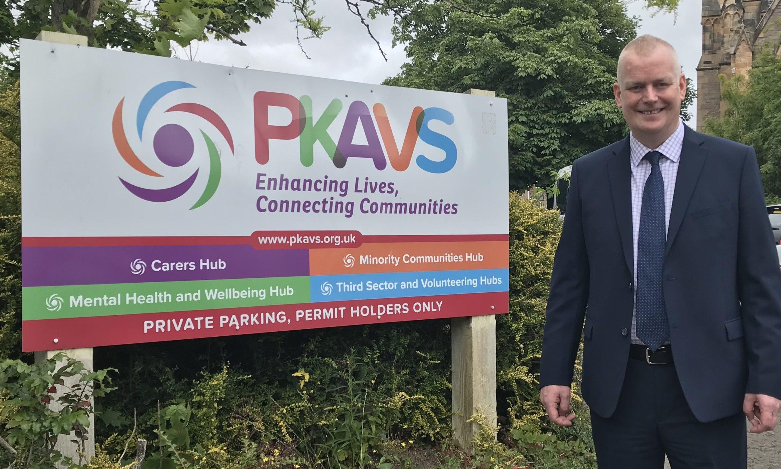 Paul Graham, chief executive of PKAVS