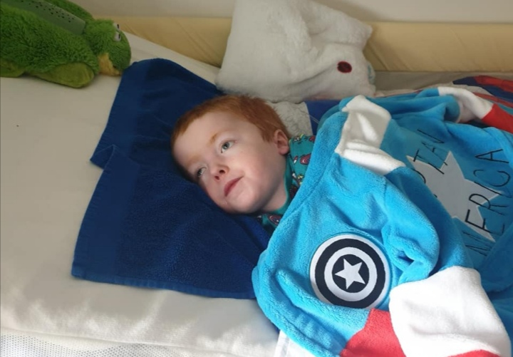 Jayden is one of the children supported by CHAS.