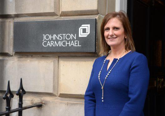 Jenn Stewart, Johnstone Carmichael's head of Dundee office.