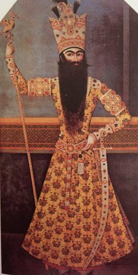 Fath 'Ali Shah by Mihr 'Ali 1809