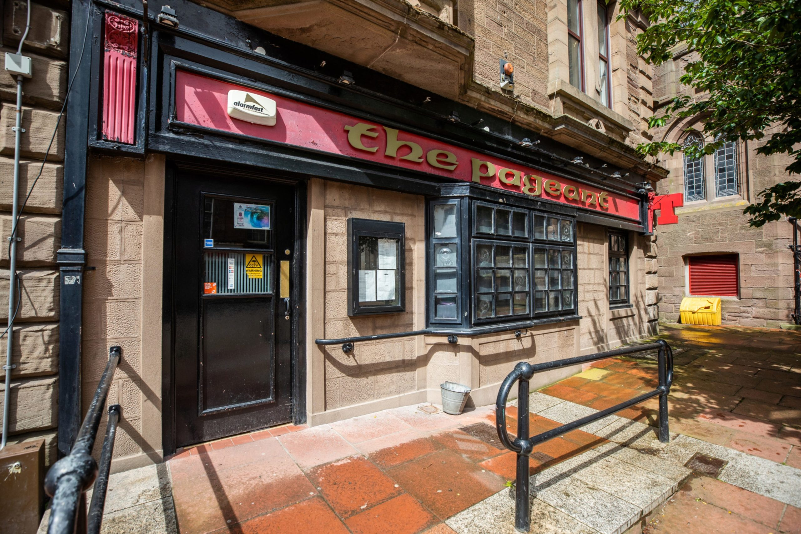 The Pageant Bar in Arbroath.
