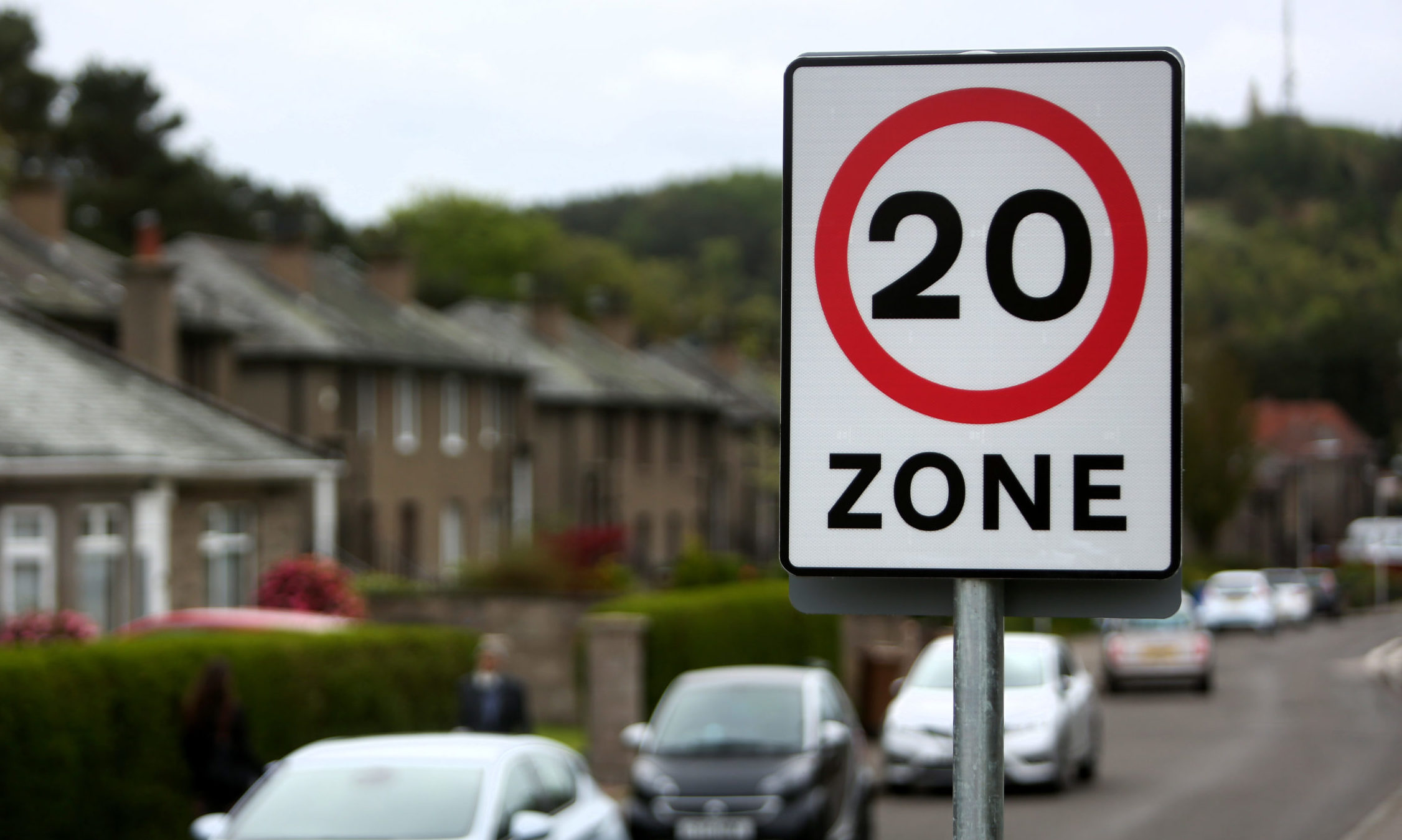 The 20mph speed limit makes sense in our residential areas.
