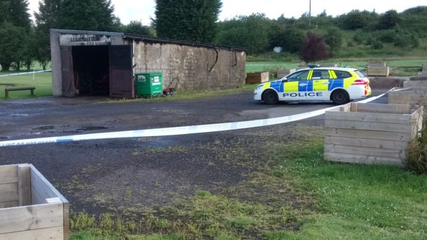 The club remains sealed off by police following the blaze.