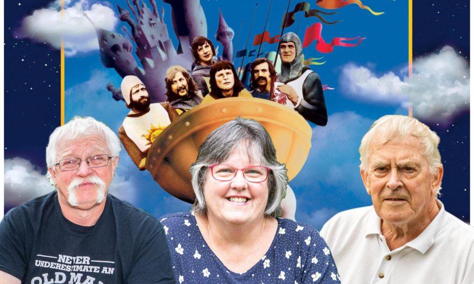Harry Doy, Gwen MacKenzie and Jack McGregor