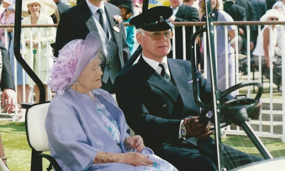 Arthur Barty was chauffeur to the Queen Mother for 27 years.