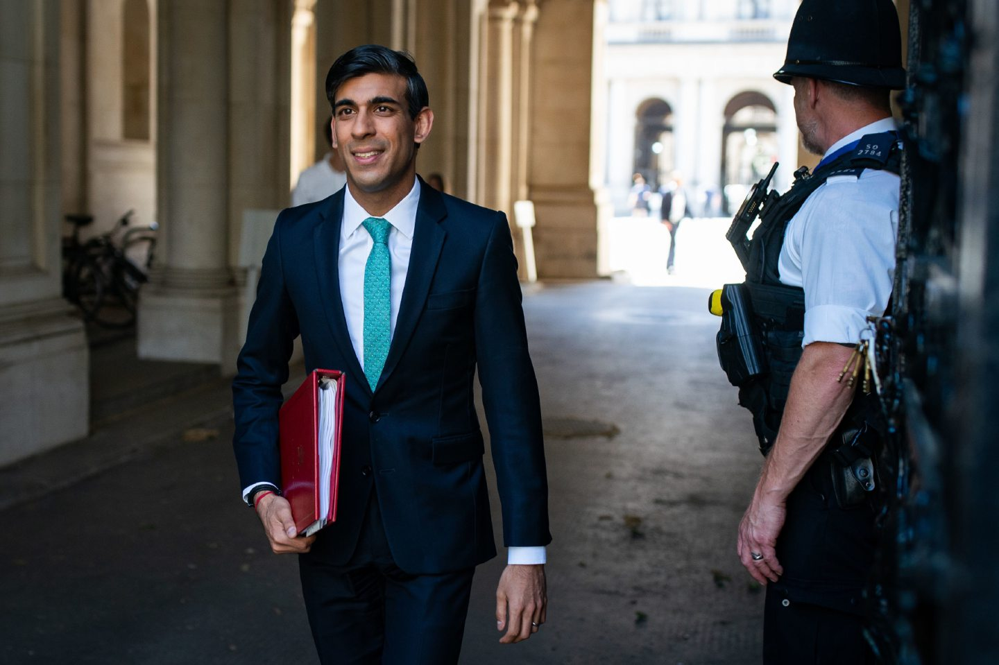 Chancellor of the Exchequer Rishi Sunak .