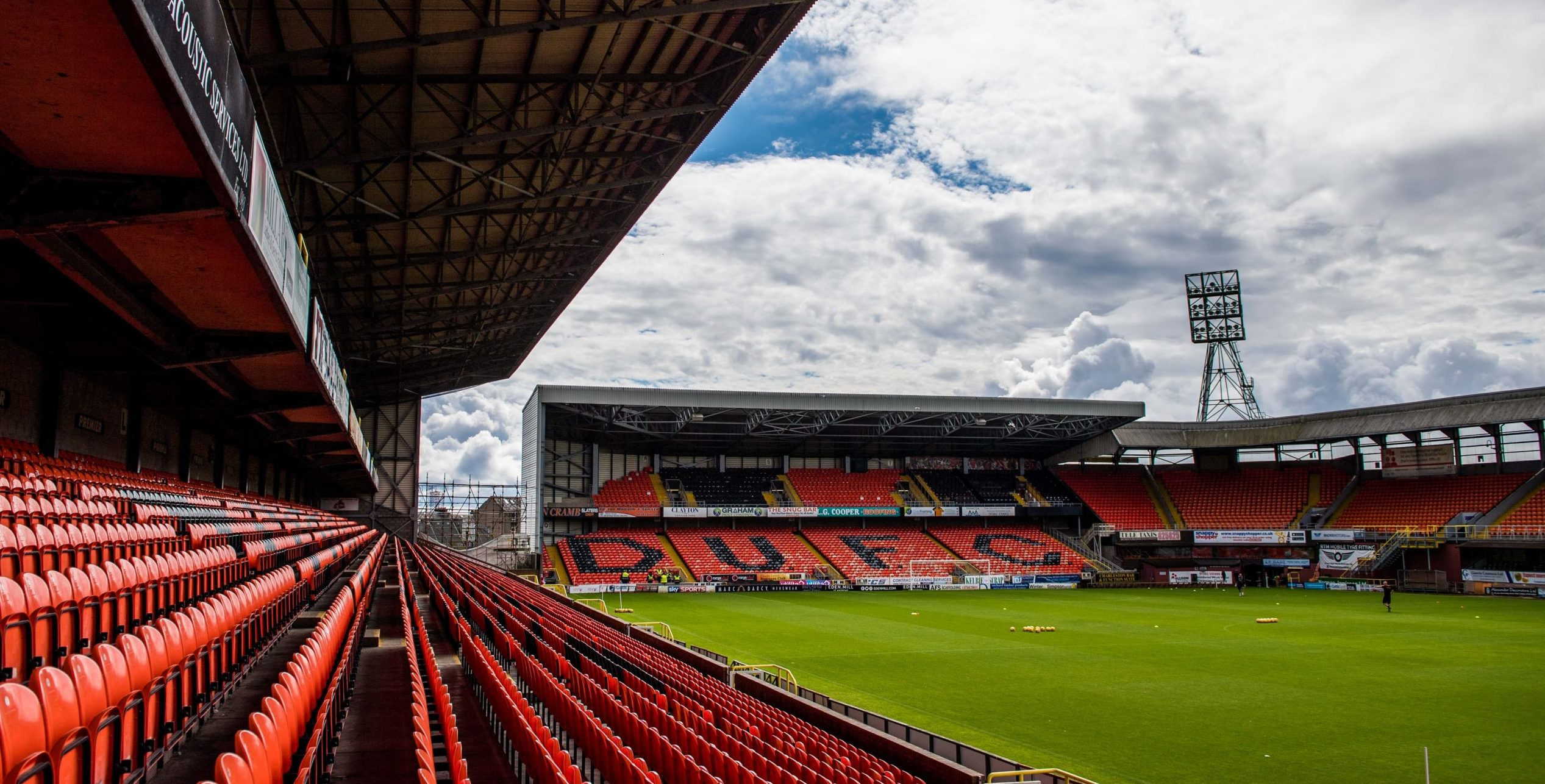 Tannadice: ready to welcome football back.