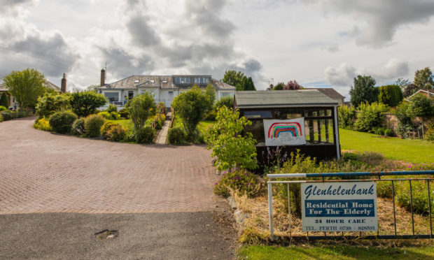Glenhelenbank care home in Luncarty.