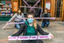 Perth Theatre Staff and Theatre Freelancers campaigning as theatres are not able to open. Steve Brown / DCT Media