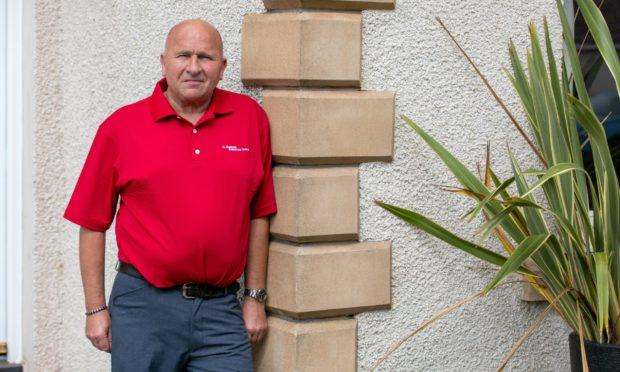 Owner of St Andrews Executive Travel, Gordon Donaldson