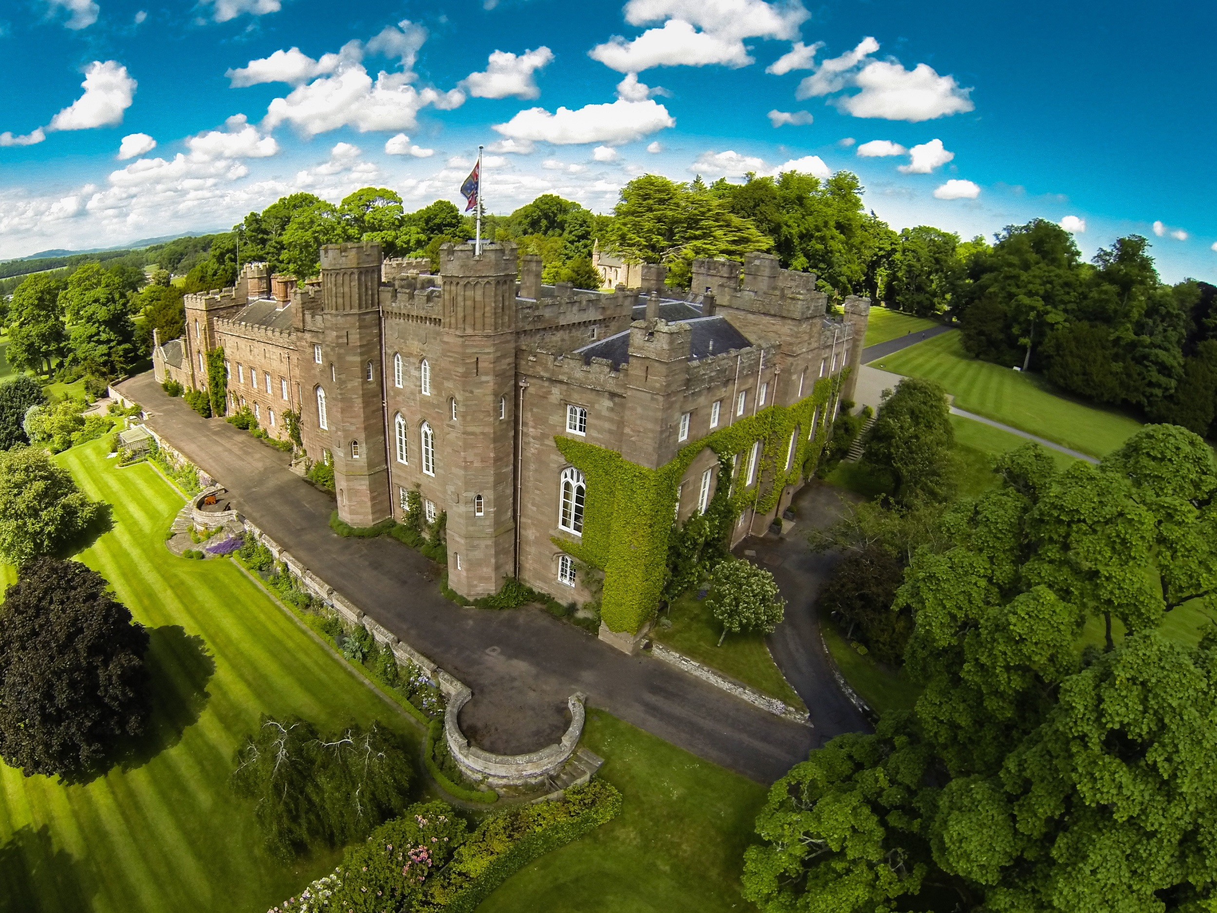 Scone Palace has been named as the venue for the production.