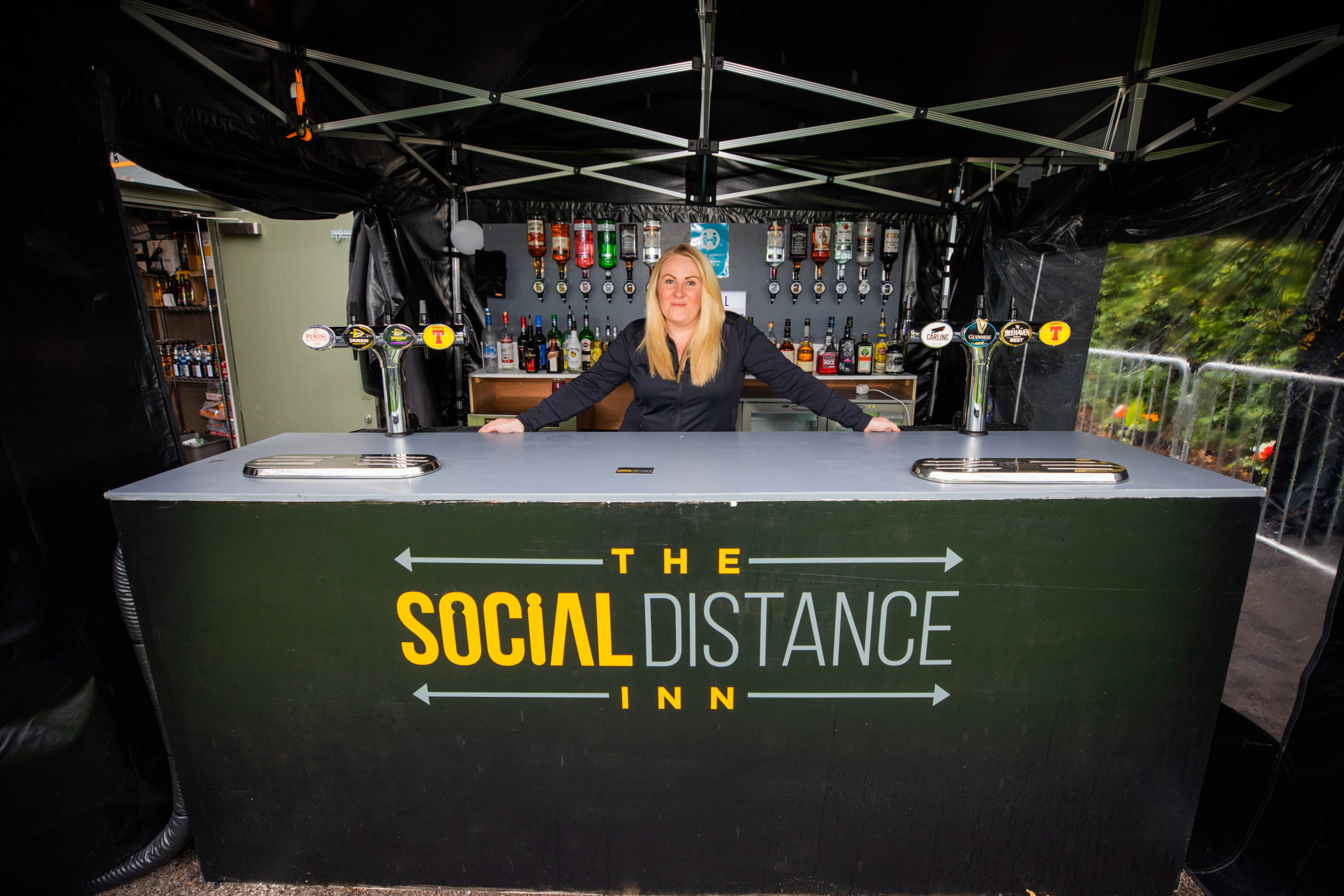Scone Arms general manager Kayleigh McKerachar at the Scone Arms' Social Distance Inn.