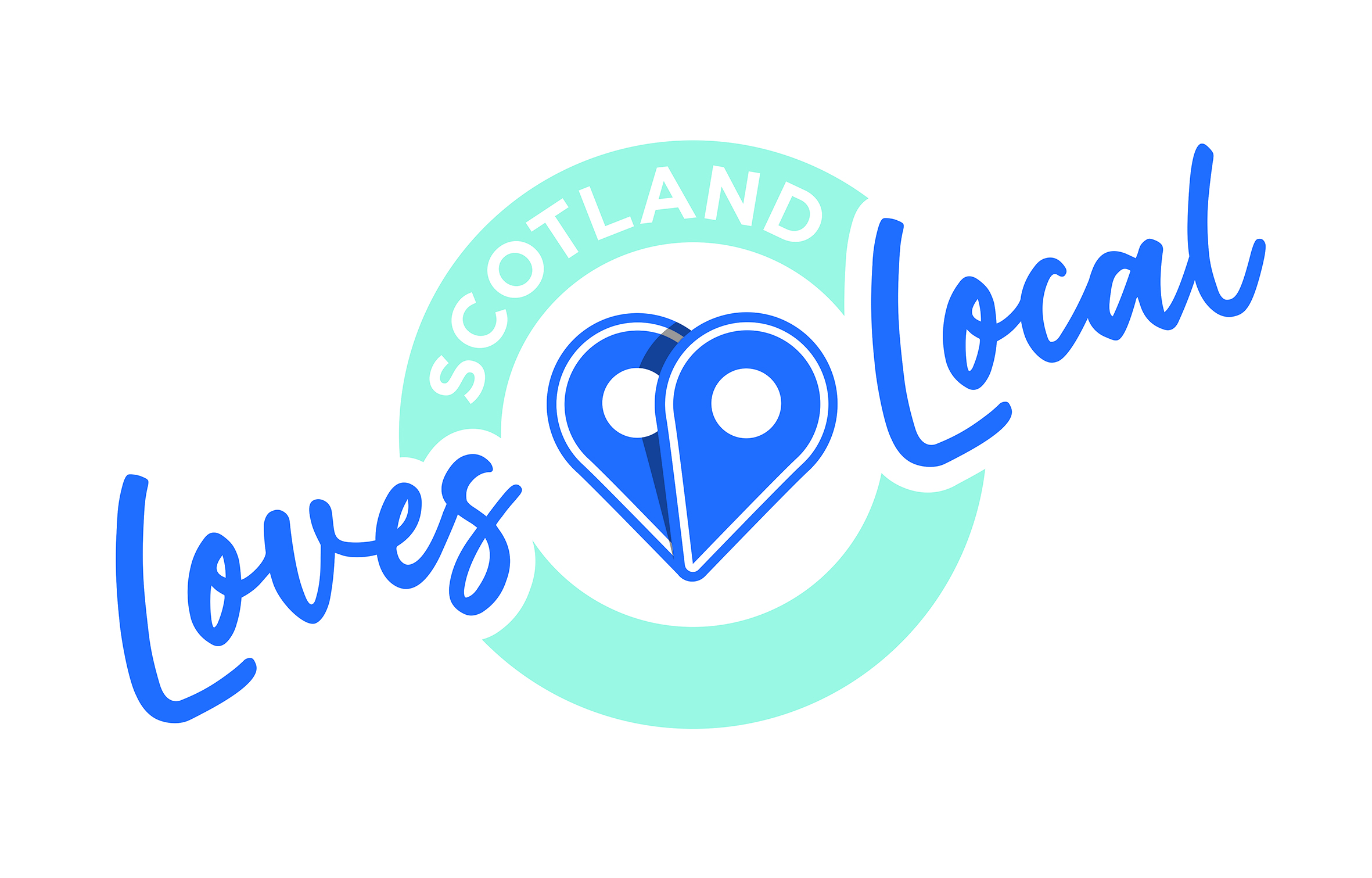 The Scotland Loves Local branding.