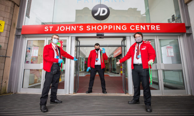 The Works is based within St Johns Shopping Centre in Perth.