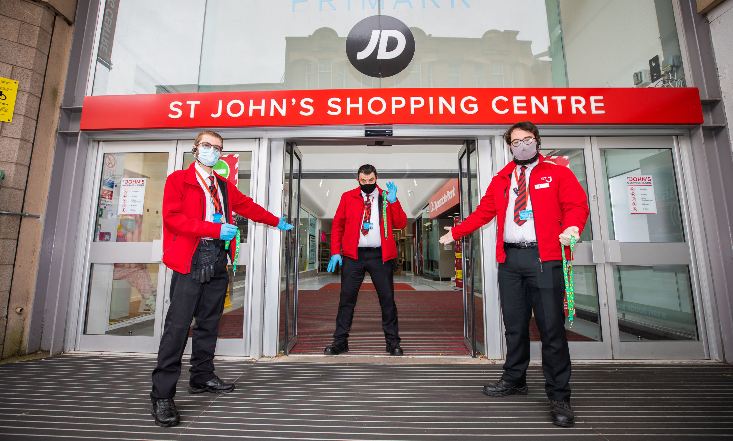 River Island is based within St Johns Shopping Centre in Perth, which  reopened in July after four months of lockdown.