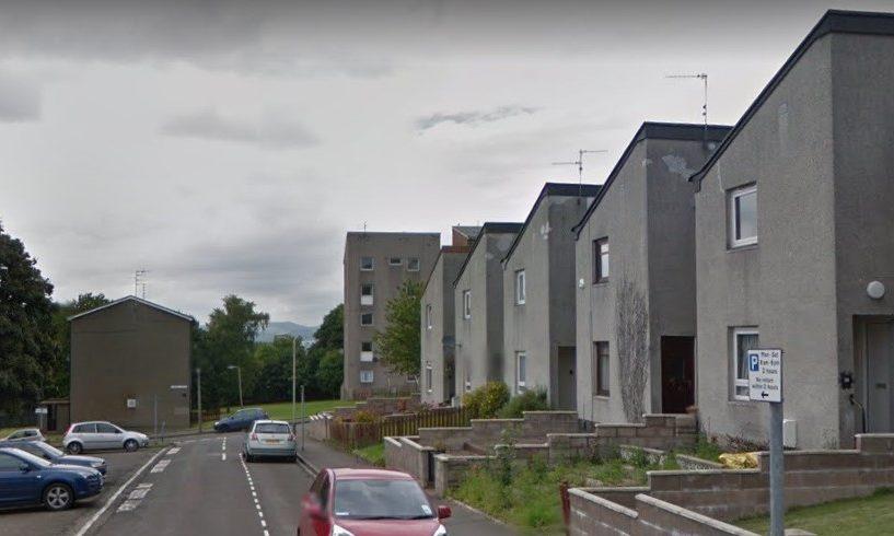 Strathcarron Place, Menzieshill (stock image).
