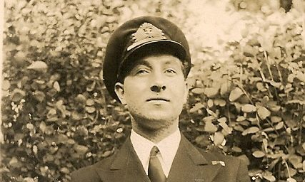 Captain Mackie pictured in 1943.