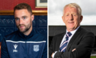 James McPake called upon Gordon Strachan's experience last season