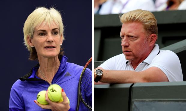Judy Murray 'struggled' after Boris Becker comments