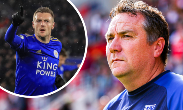 Jamie Vardy worked with Micky Mellon at Fleetwood Town