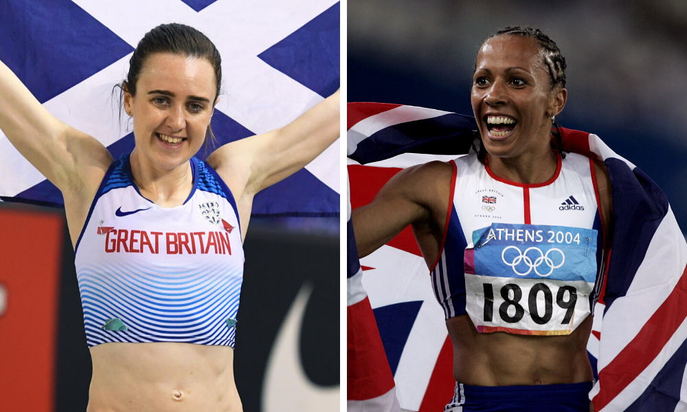 Laura Muir opened up in following in Kelly Holmes' footsteps