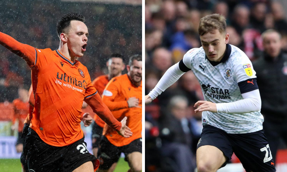 Lawrence Shankland has impressed Luke Bolton