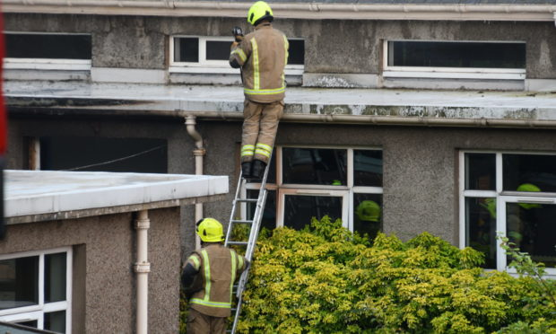 Dealing with fire damage at Viewlands Primary, pictured, and Oakbank, made up the most expensive insurance claims.