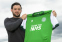 Drey Wright is unveiled as Hibernian's first summer signing.