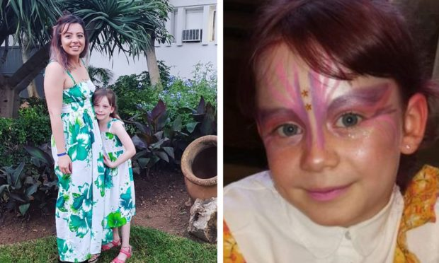 Freya Skene, 7, died following an accident at The Hermitage.