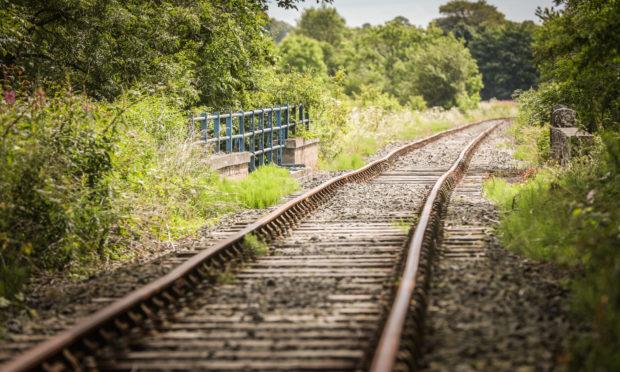 The Brechin Caledonian Railway line.