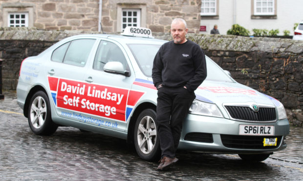 Anddy Lothian of Ace Taxis in Perth.