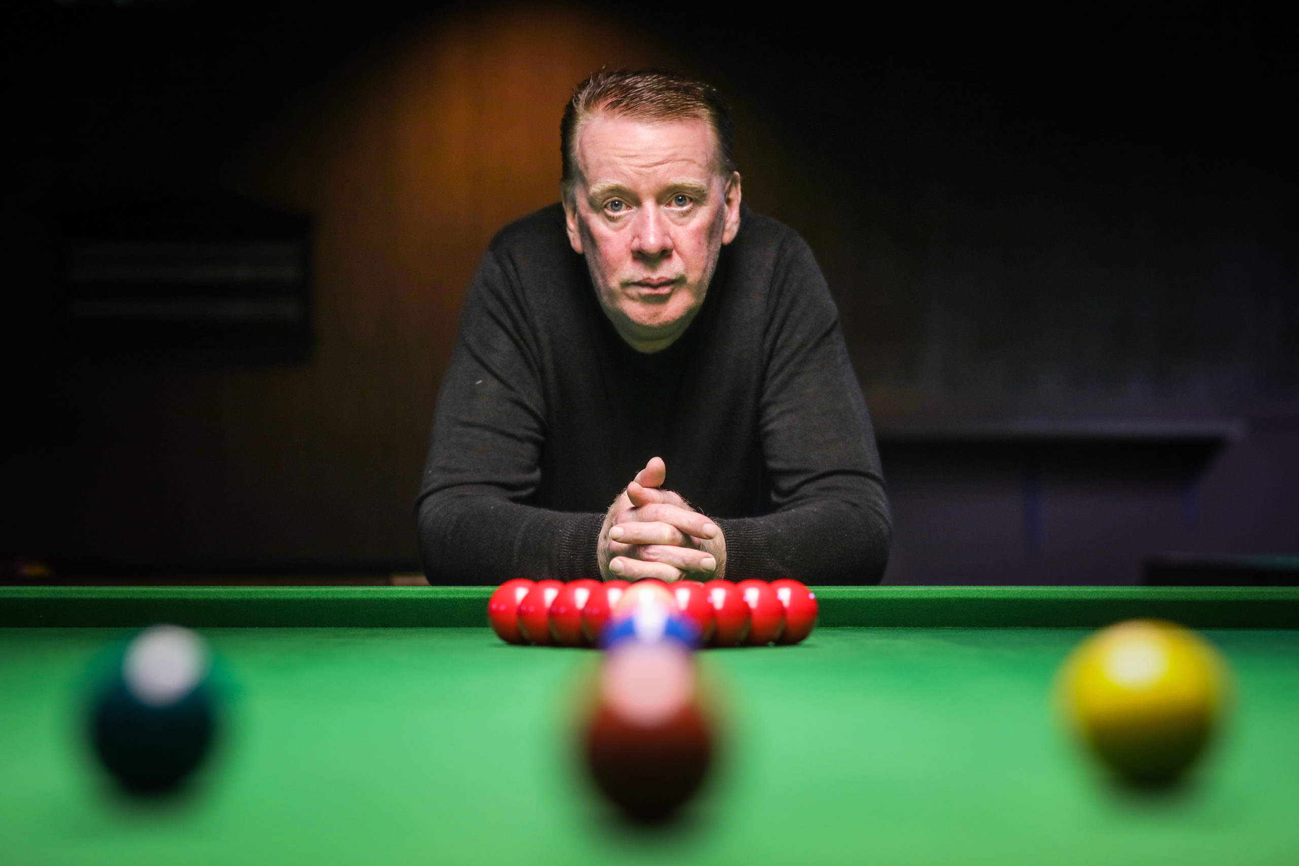 Long-serving Tivoli Snooker Club deputy manager Kenneth Burns