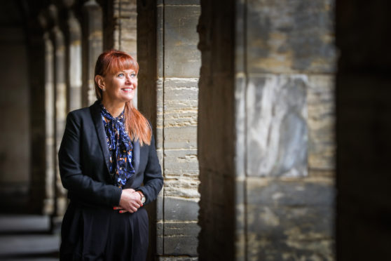 New rector Avril McNeill will lead Madras College from the historic to the modern as it moves from its campus at South Street.
