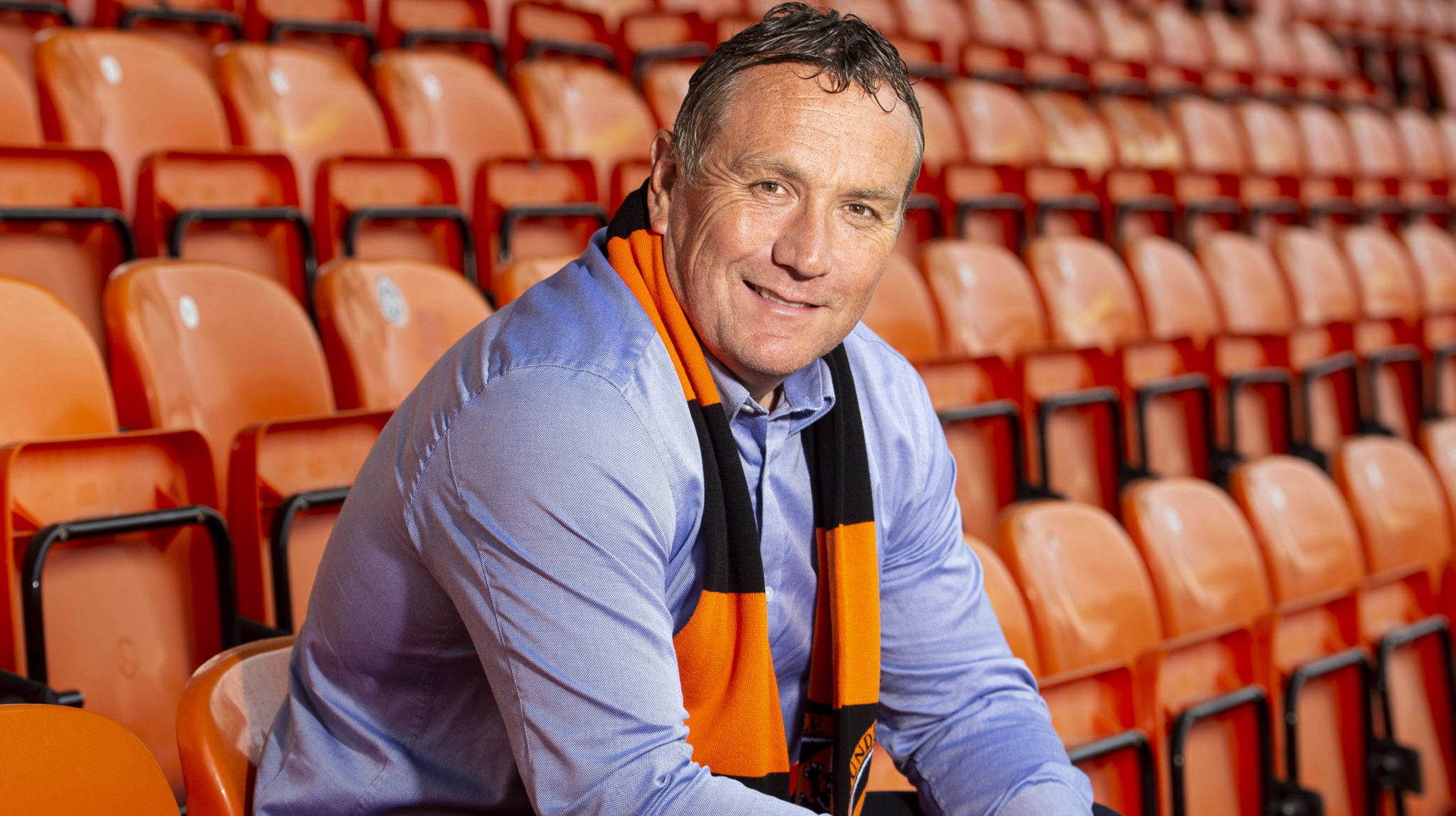 Micky Mellon wants to connect with United fans.