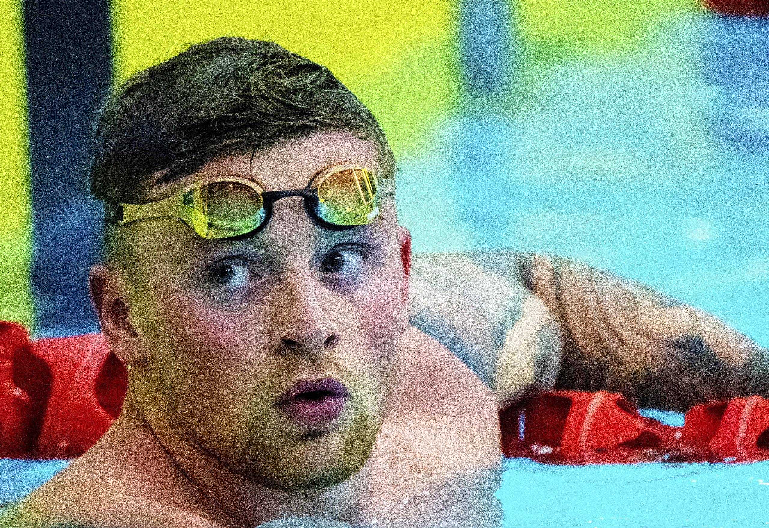 Adam Peaty had a swimming pool put in his garden