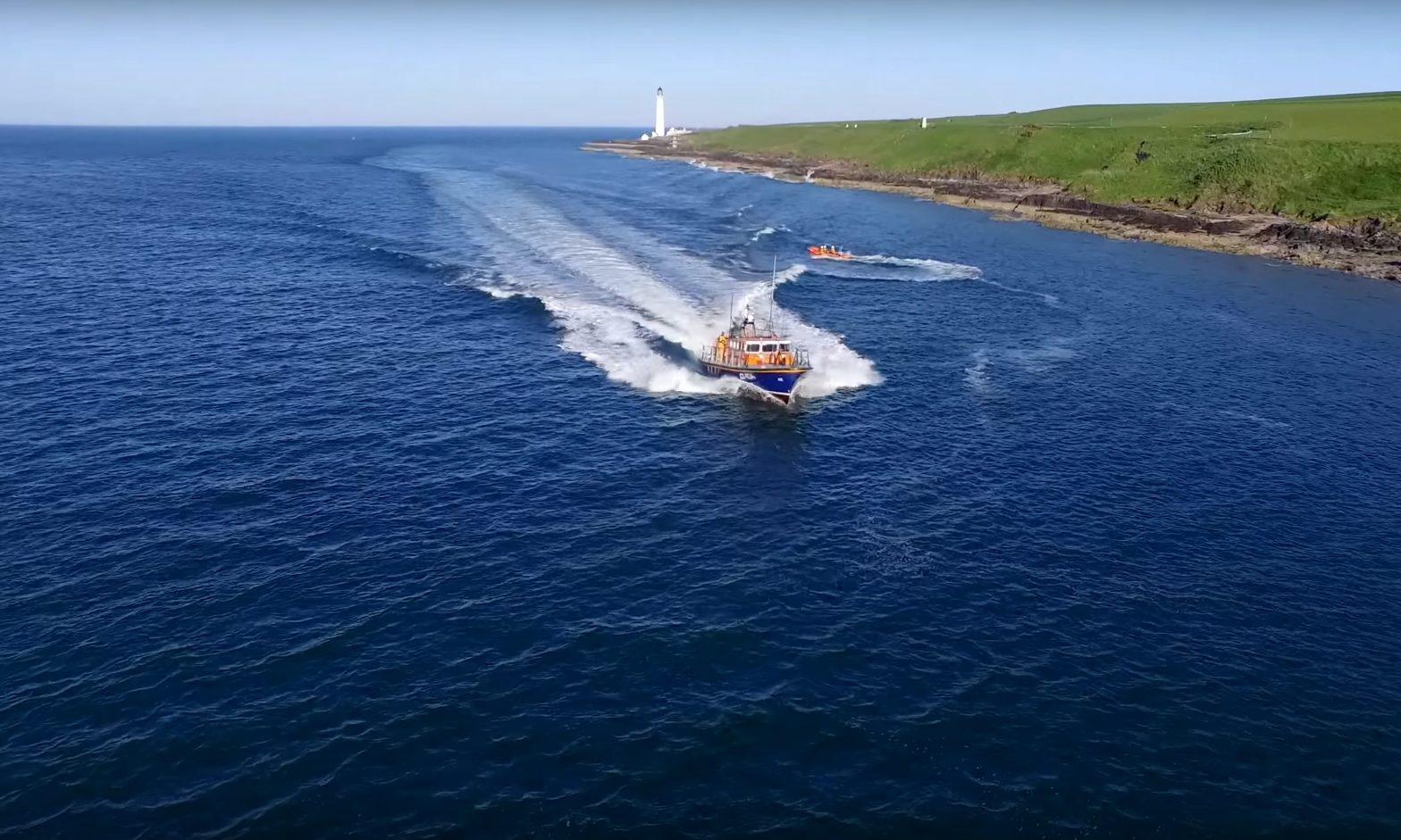 Montrose Inshore Lifeboat (ILB) Nigel A Kennedy (stock image)