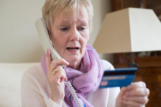 Phone bank fraud
