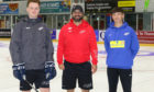Dundee Stars head coach and general manager Omar Pacha (centre) is delighted with the club's new sponsorship deal.