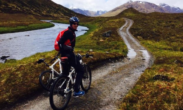 Tayside doctor Paul Fettes part of the team which completed the 2015 climbing challenge for The ARCHIE Foundation.